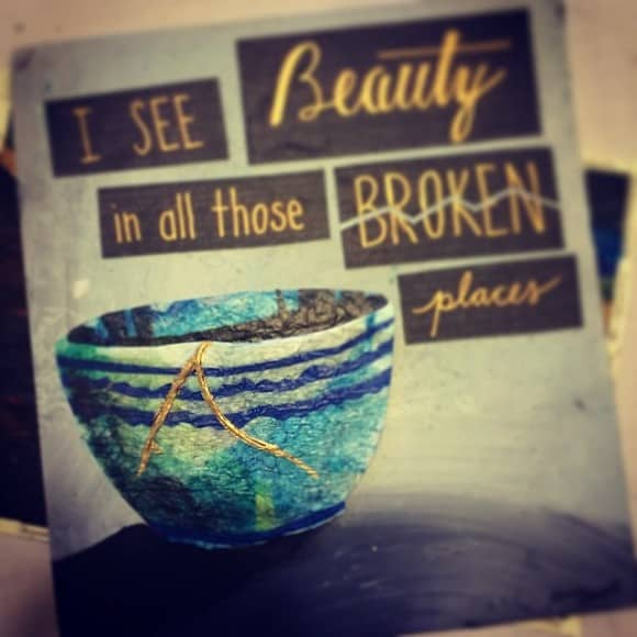 Beauty in Broken Places