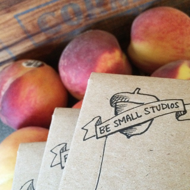 Prints on their way to the post office {peaches not included!}. Still offering 10% off with coupon code SUMMER10