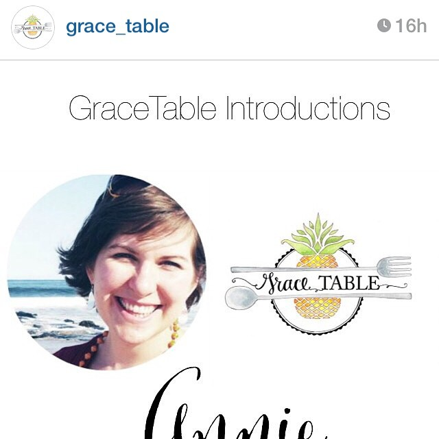 #gracetable launches in November! So grateful to be a host, writing and offering a bit of art over there from time to time. If you love hospitality, or long to make space for others in your life, join us! Follow @grace_table and stay tuned for the launch!