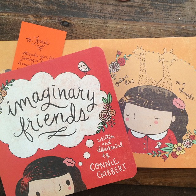 The sweetest little books arrived on my doorstep today. Find Connie Gabbert's shop (The Spare Button) on @etsy and order extras for baby shower gifts. Thanks for the recommendation, @jessicanturner!